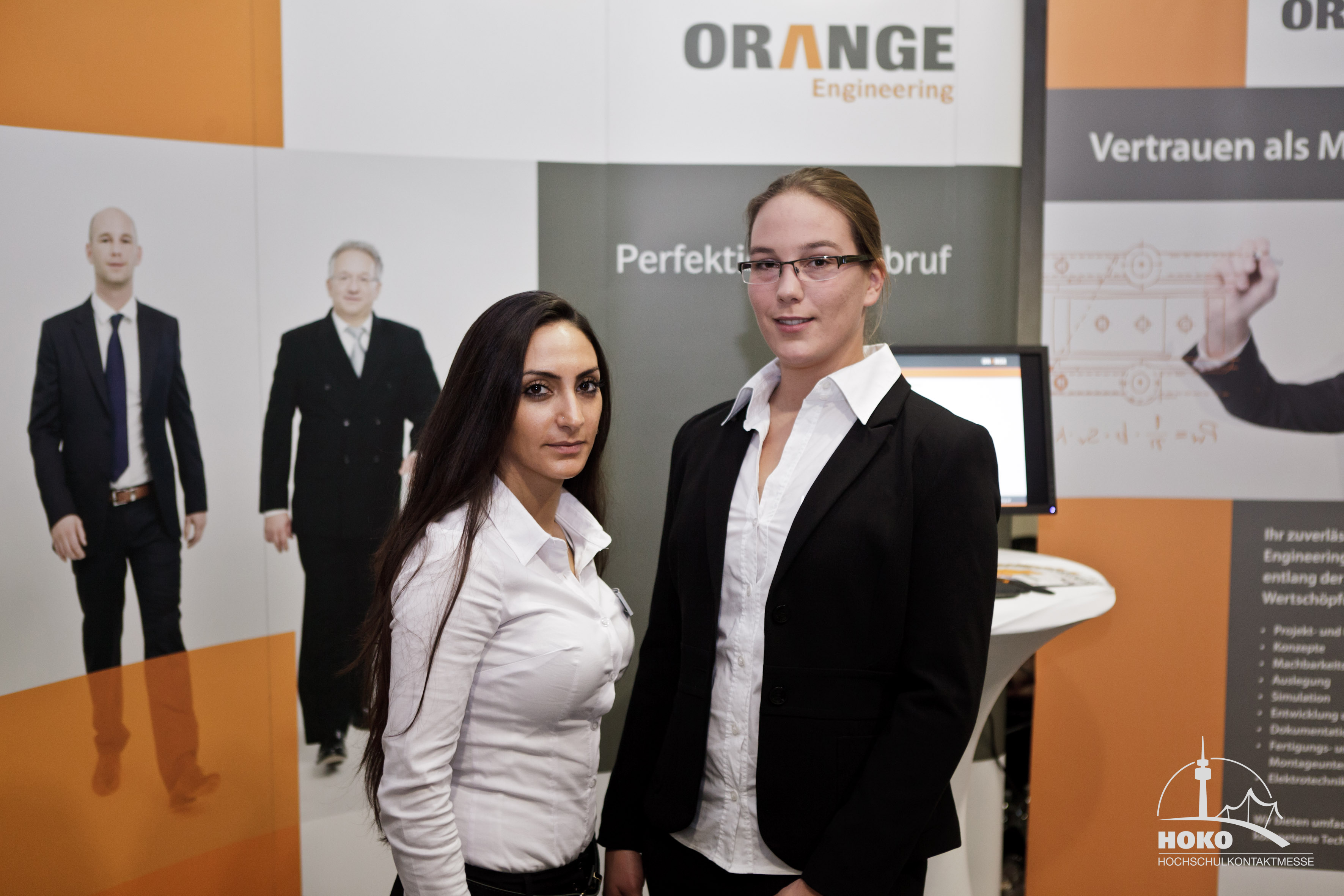 ORANGE Engineering auf der Hochschulkontaktmesse München ...  ORANGE Engineer...